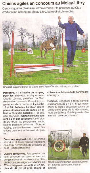 09 Avril 2009 - Ouest France